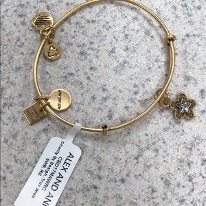 Alex and Ani true wish gold tone new bracelet